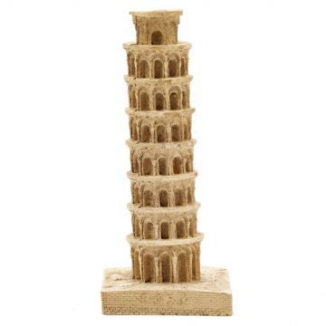 Pet Ting Leaning Tower of Pisa Ornament